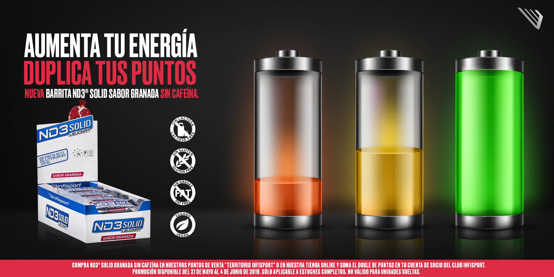 Promo ND3 Solid Granada Sin Cafeina
